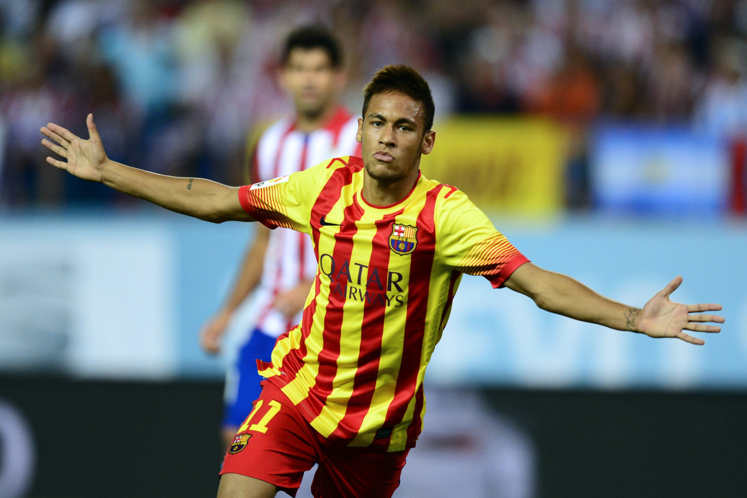 Neymar's First Barcelona Goal Comes Vs. Atletico Madrid In ...