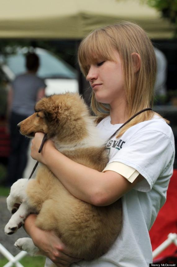 puppy hold