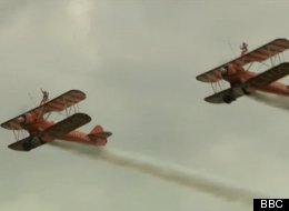 WATCH: 9-Year-Old Wing Walkers Make History