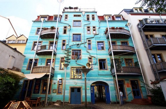 Artists Turn Building Facade Into A Giant Musical