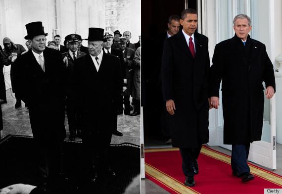 obama kennedy inauguration