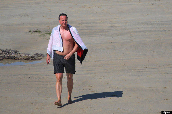 david cameron in cornwall