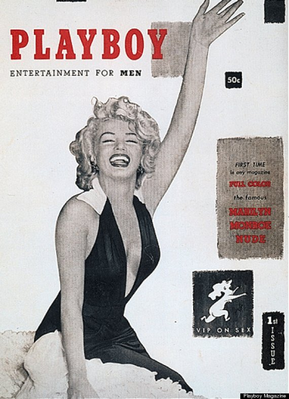 1953 playboy magazine Marilyn Monroe