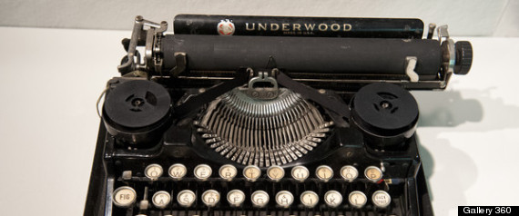 famous writers typewriters