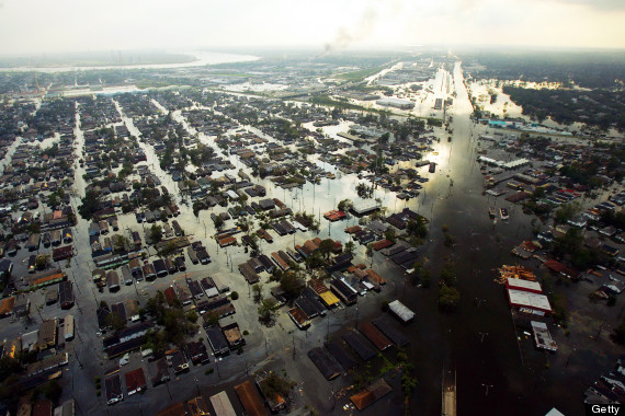 Hurricane katrina global warming essay