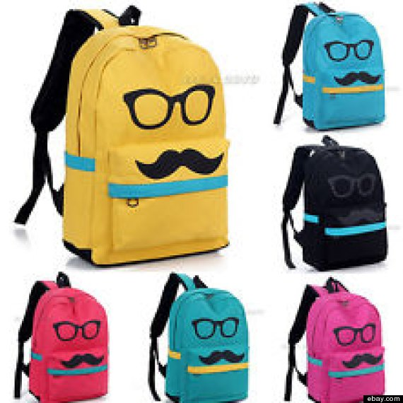 da78b2a2d6 mustache. The coolest backpacks for preschool ...