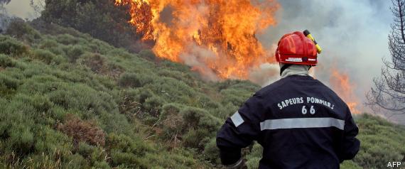 incendie pyrénées orientales