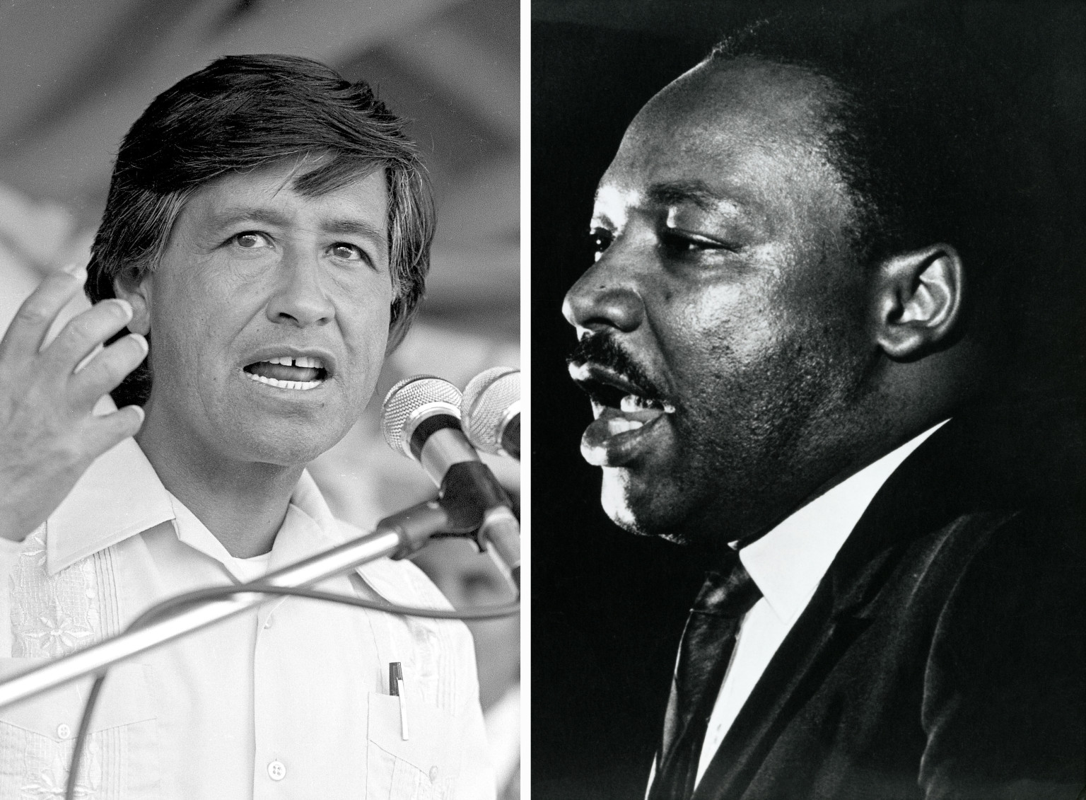 Cesar Chavez: Cesar Chavez And Martin Luther King Jr.: The Relationship