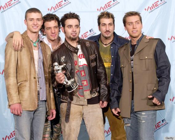 nsync vma costumes 2001