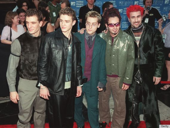 Nsync S Vmas Costumes Were Huge Disappointment At 2013