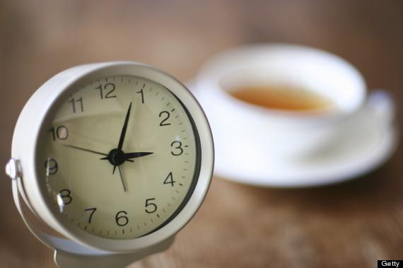 clock tea