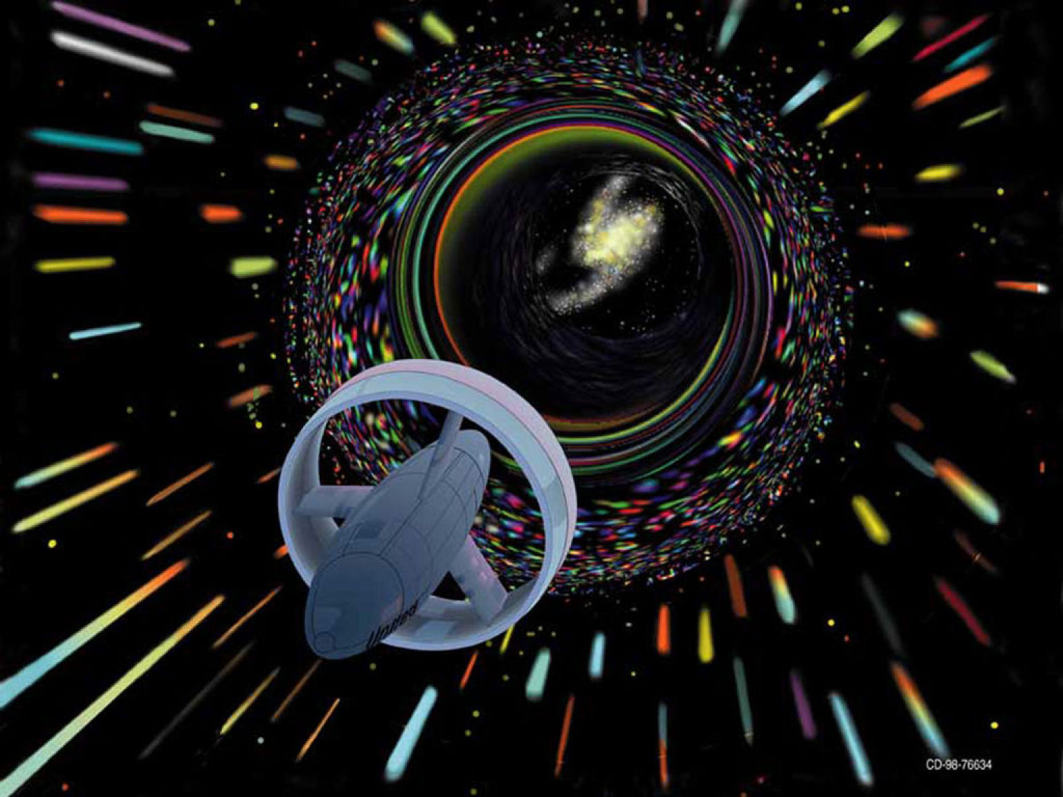 Wormhole Time Travel Interstellar