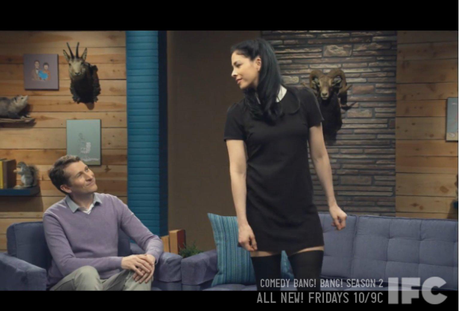 Sarah Silverman Dances On 'Comedy Bang! Bang!' And Things ...