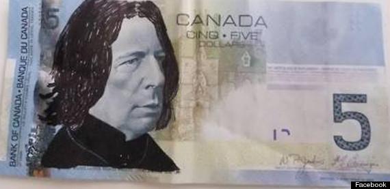 snape 5 bill canada