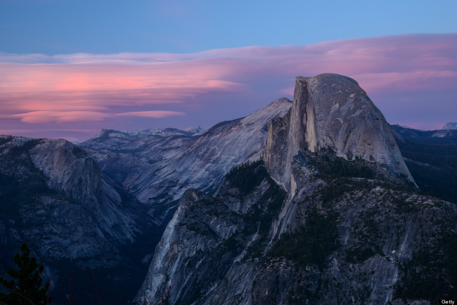 glacier point yosemite