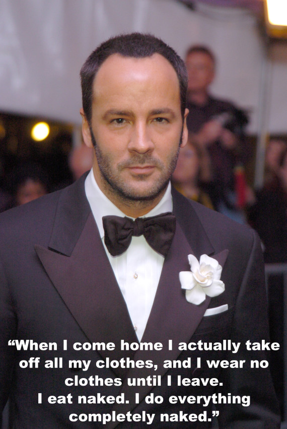 Tom Ford Needs A Reality Check, According To These Tom ... Alexander John Buckley Ford