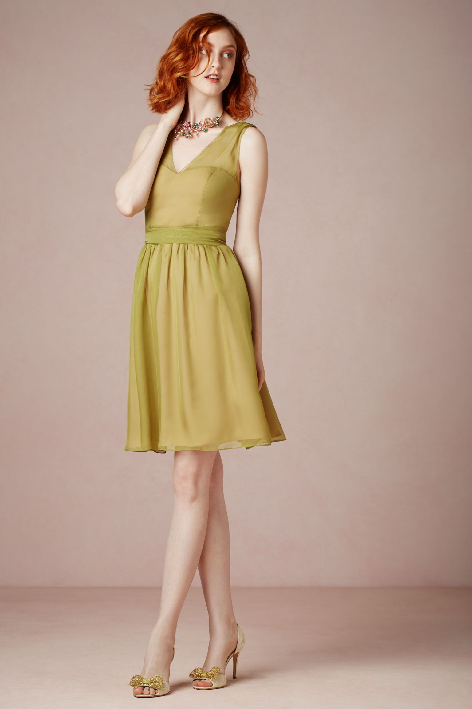 Fall wedding guest dress ideas photos huffpost for Dresses to wear at weddings as a guest