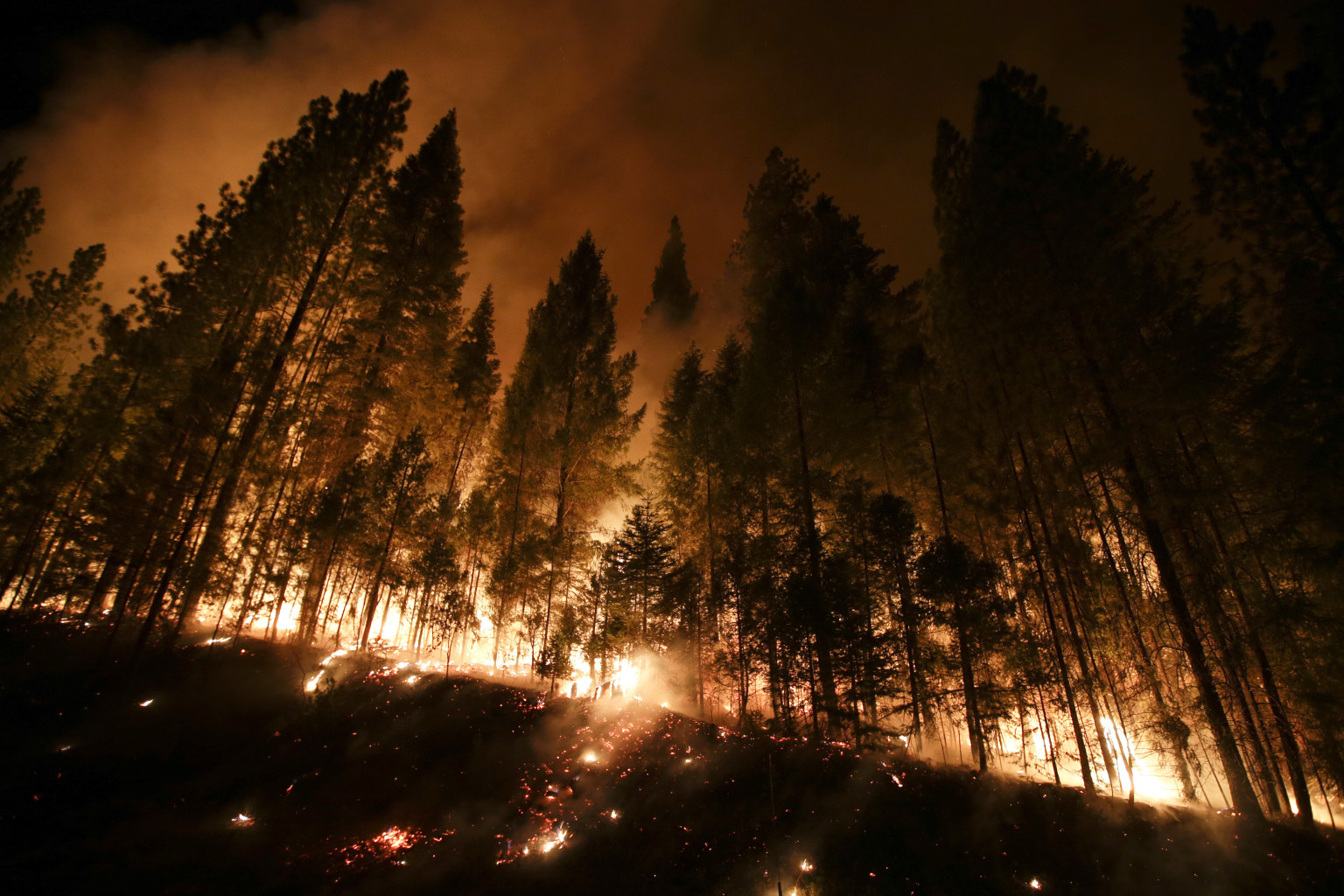 Yosemite Fire Threatens San Francisco Water And Power ...