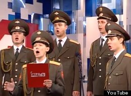 WATCH: Russian Army Sings 'Skyfall'