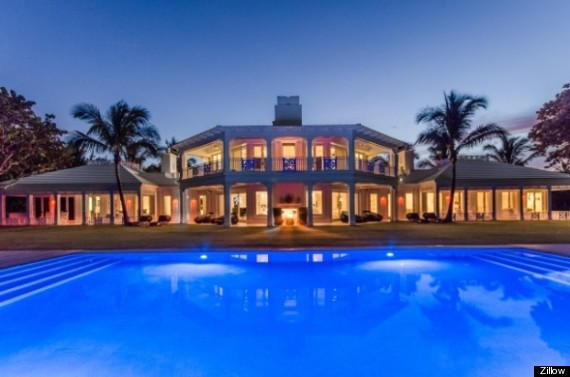 Celine dion 39 s 72 5 million jupiter island house has its for House plans 10000 square feet plus