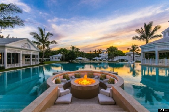 Celine Dion's $72.5 Million Jupiter Island House Has Its Own Water ...