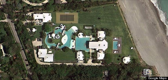 Celine Dions 725 Million Jupiter Island House Has Its Own Water