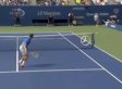 Rafael Nadal Overhead Shot vs. Ryan Harrison Highlights First-Round Win At U.S. Open (VIDEO)