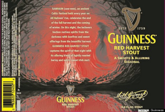 red harvest stout guinness