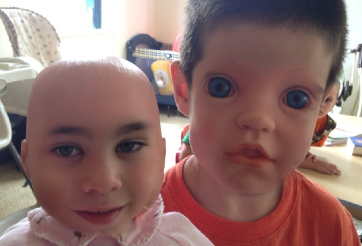 Children Doll Face Swaps Will Scare Delight You Photos