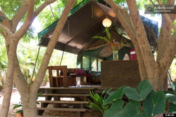 eco lodge airbnb