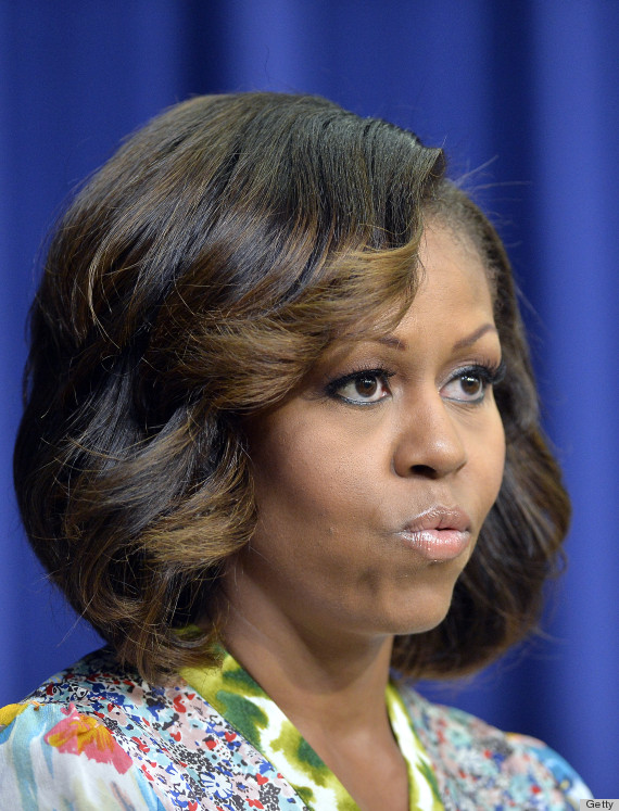 Michelle Obama S Highlights Are The Perfect Post Bangs