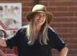 Hilary Duff's Shorts Are So Short They Could Pass For Underwear