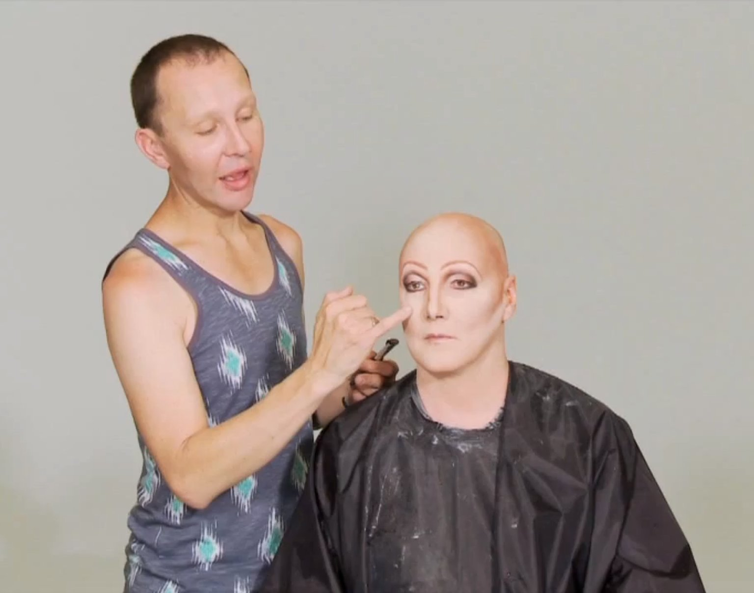 Chad Michaels Transforms James Into Cher