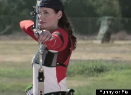 Geena Davis Will Shoot You With An Arrow