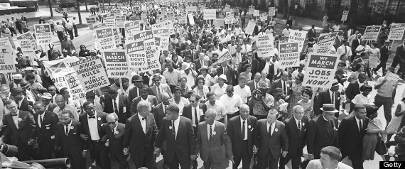 Latinos 1963 march