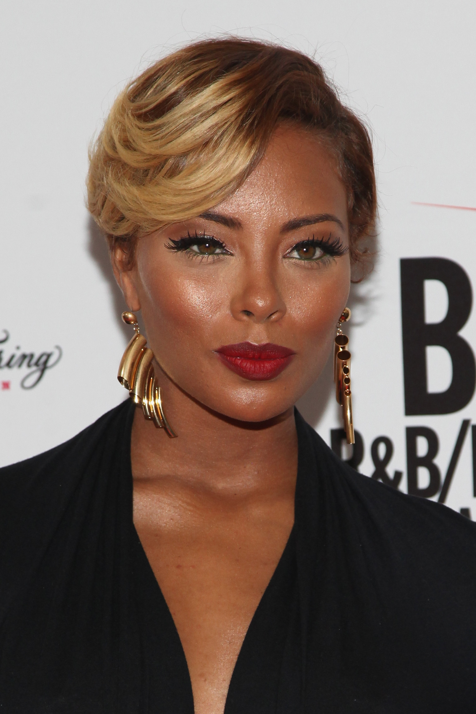 Eva Pigford Bet Awards Short Hairstyle