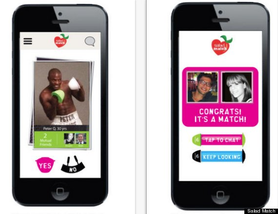 Salad match proves online dating