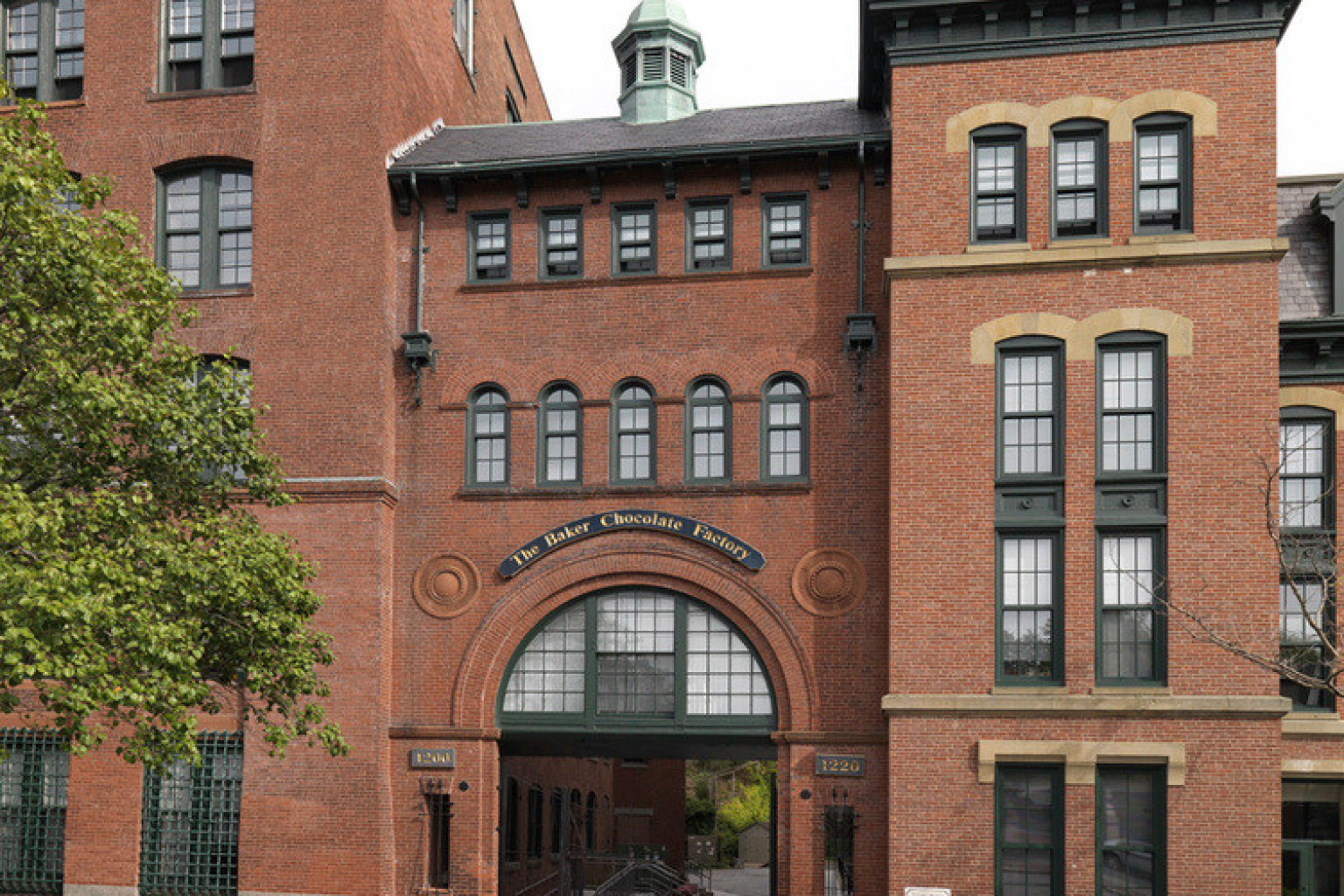 The Baker Chocolate Factory Once Produced Sweet Treats But