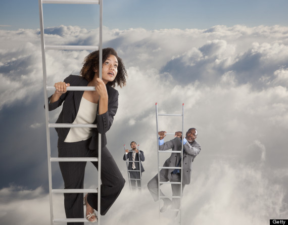 climb corporate ladder