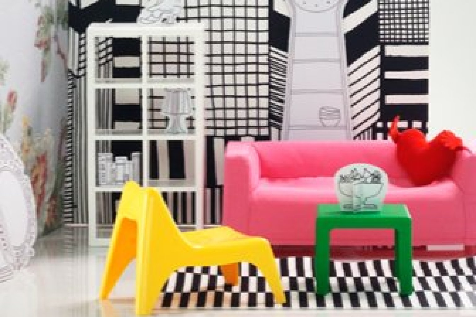 IKEA Miniature Furniture For The BudgetMinded Doll In Your Life