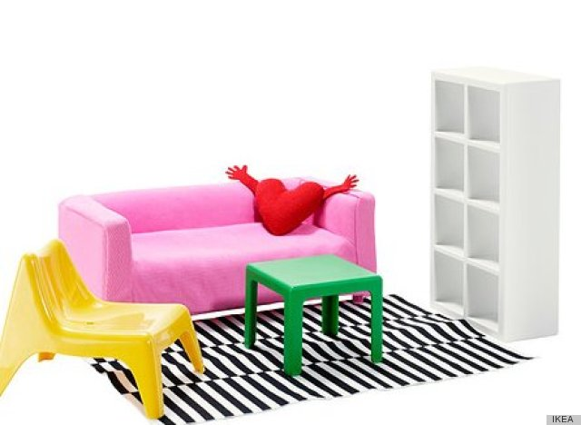 IKEA Miniature Furniture, For The Budget-Minded Doll In Your Life ...
