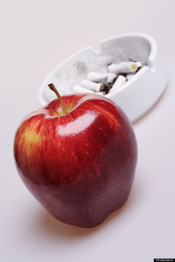 apple smoking
