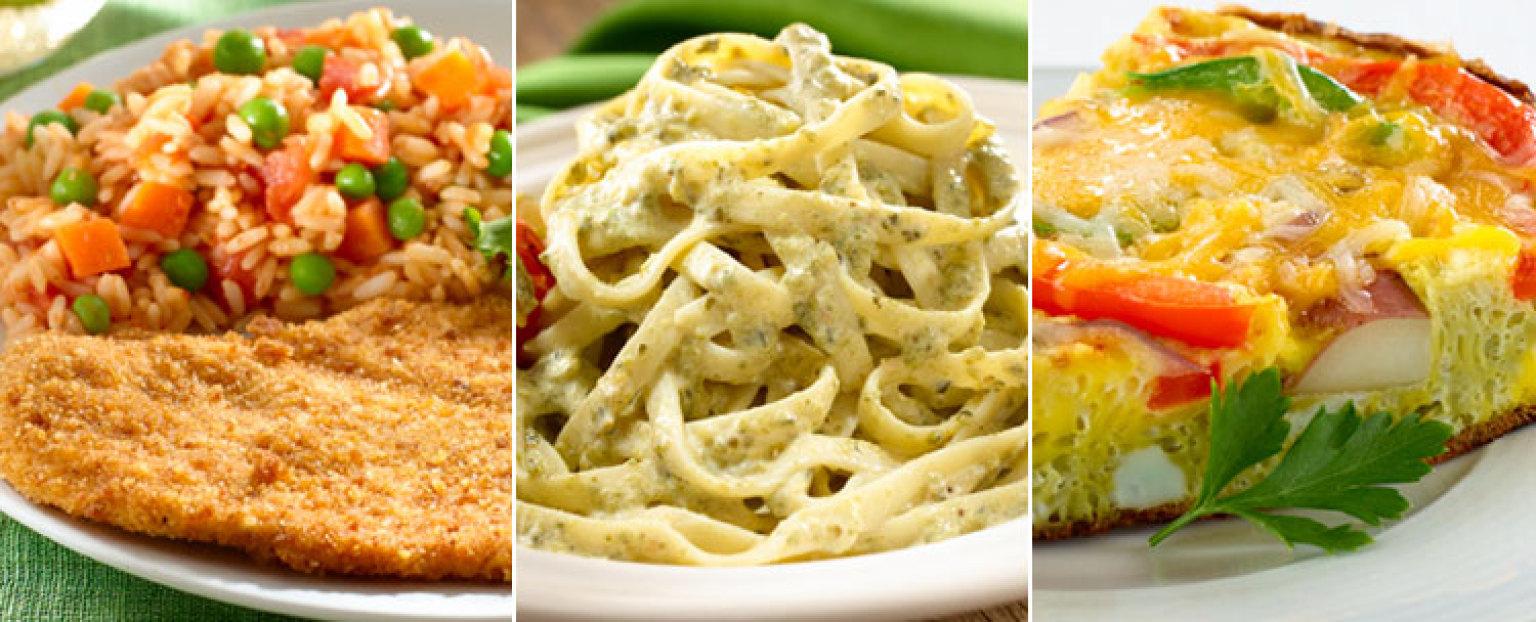 Cenas a para toda la familia recetas - Menus para comidas familiares ...