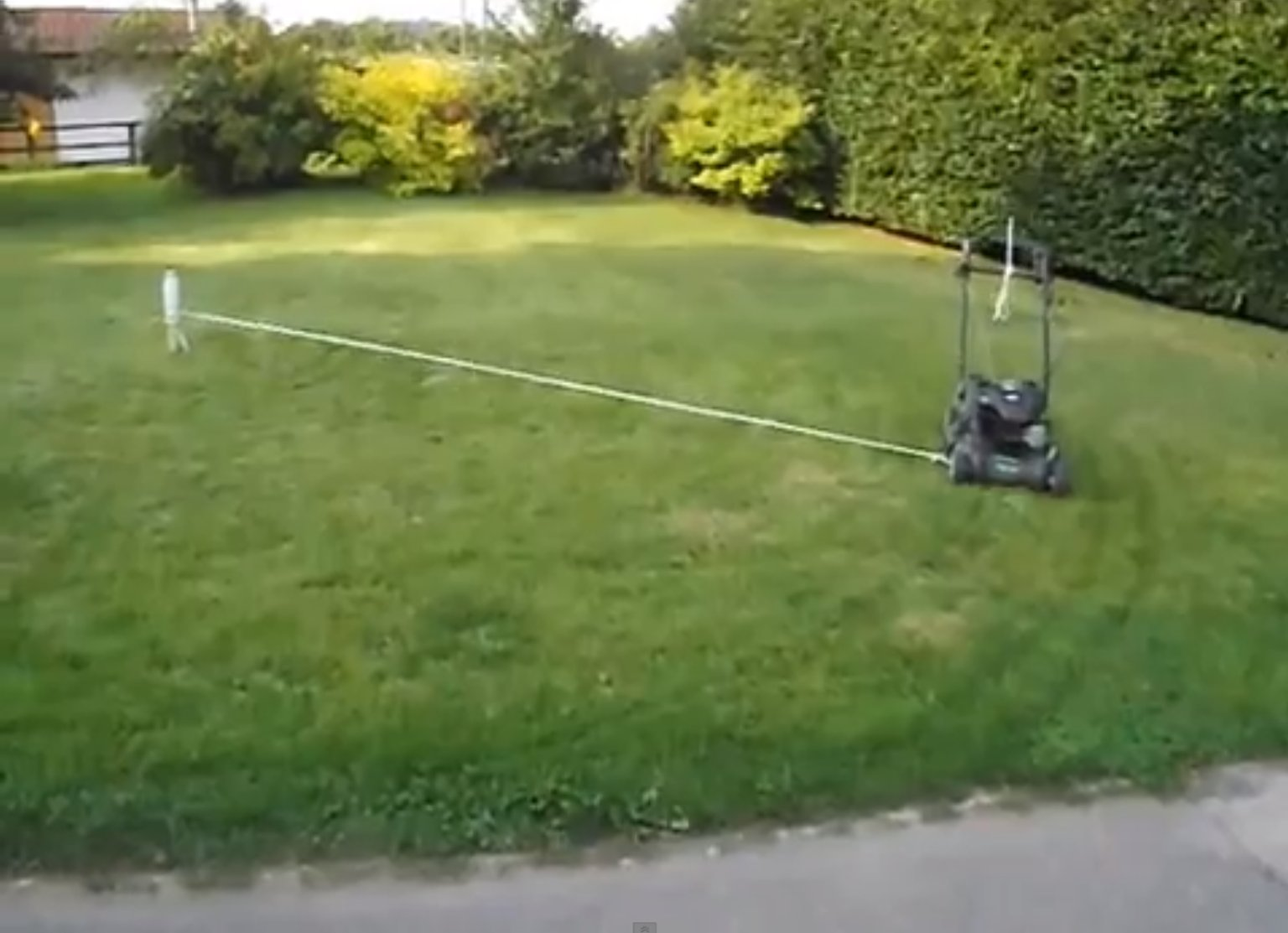 How To Make Mowing Your Lawn At Least 50% Easier (VIDEO)