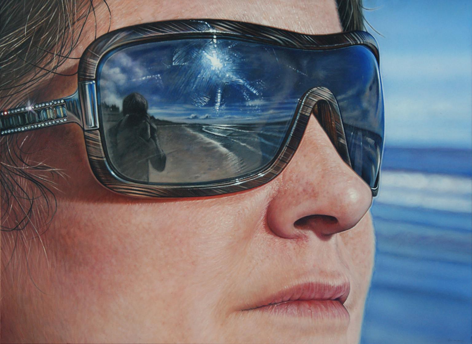hyperrealist artist painted eyes until he got really