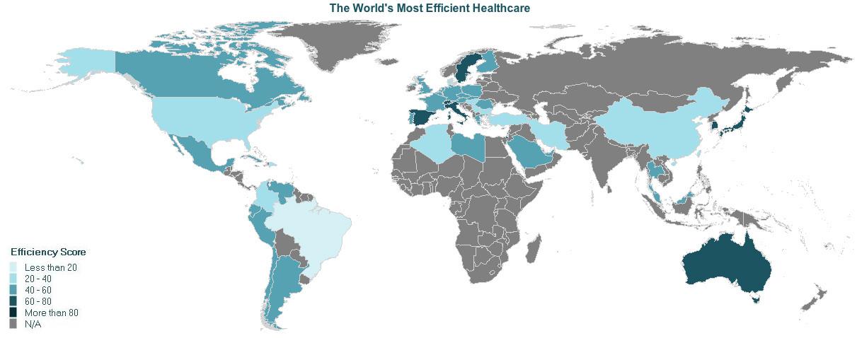 The world's most efficient healthcare