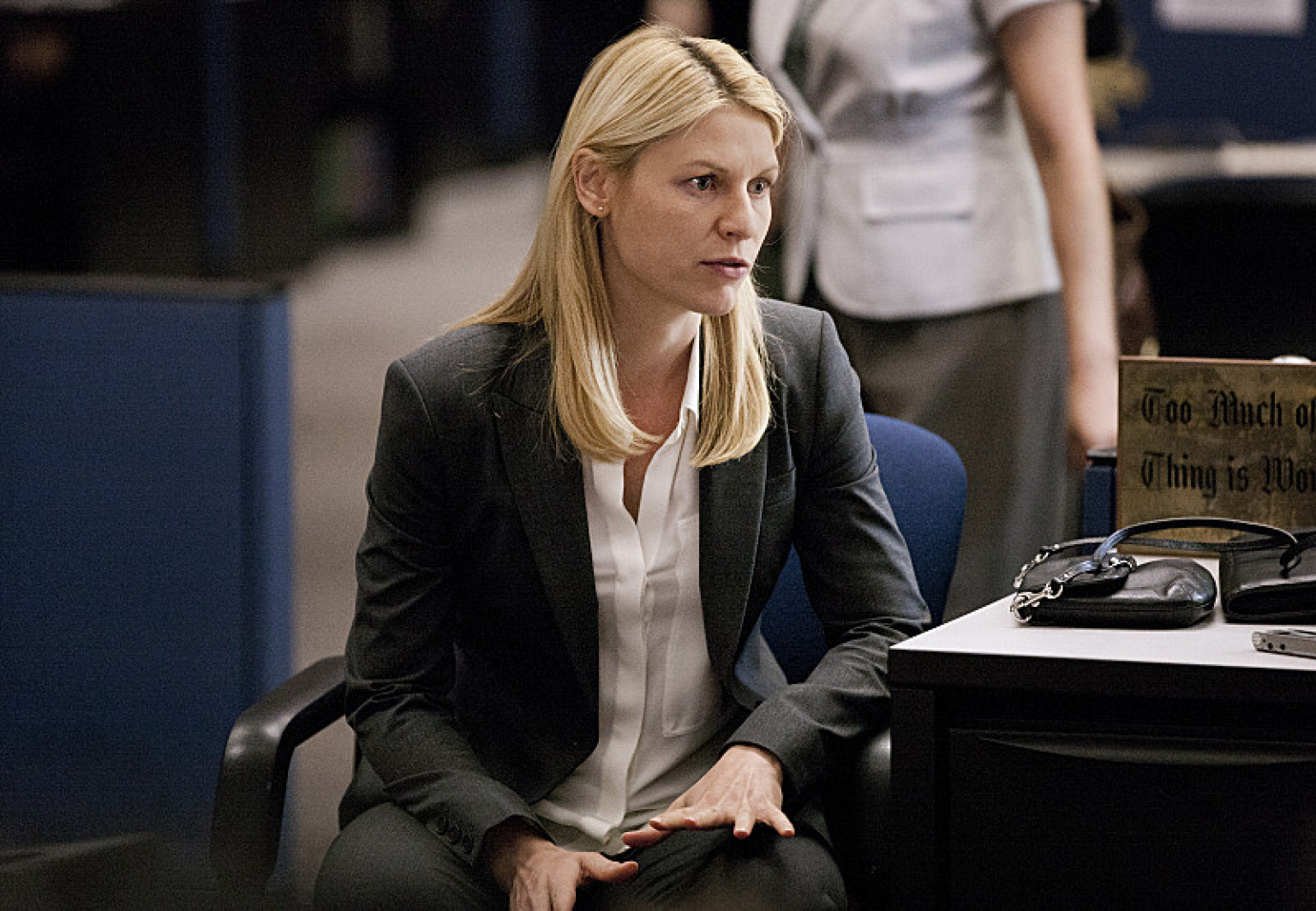Homeland Season 3: Pro... Claire Danes Homeland