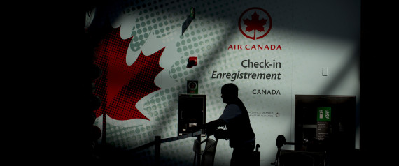 AIR CANADA BUMPED COMPENSATION