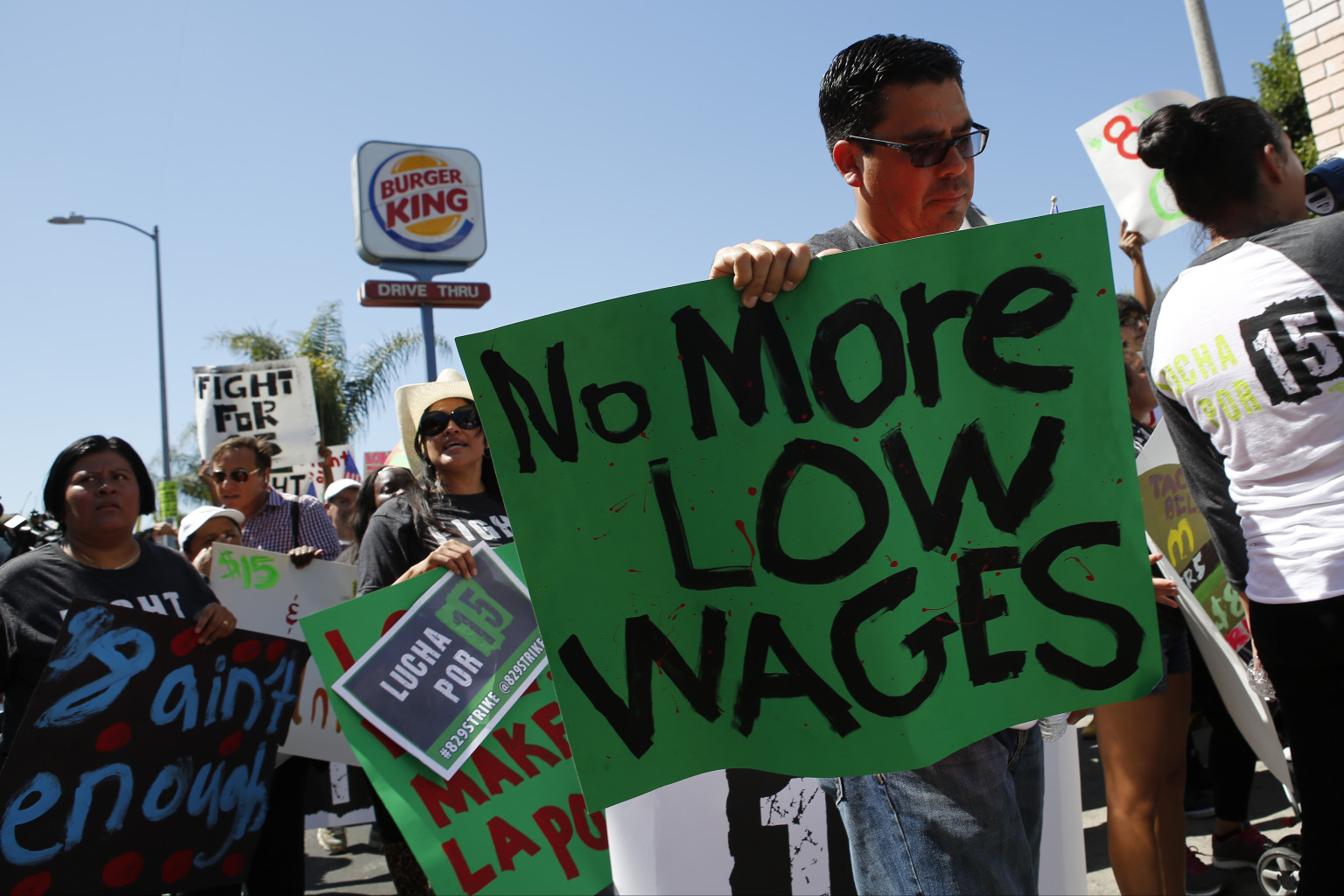 Fast Food Workers Strike In 60 Cities, Marking Largest ...