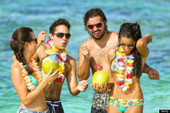 teens tropical drink